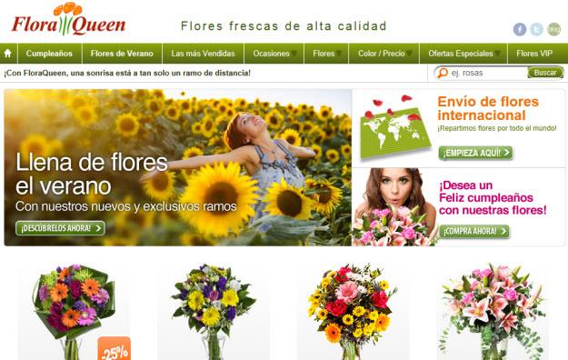 Envío de flores al extranjero