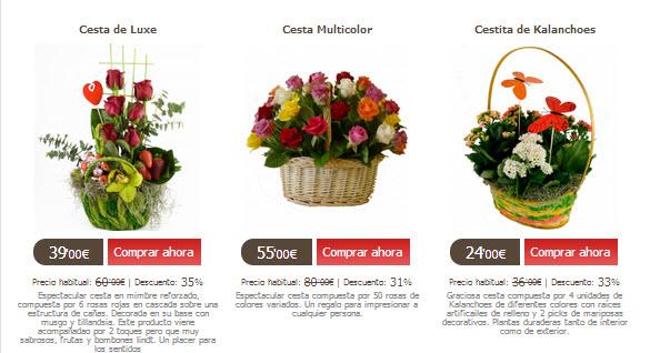 Ramos de flores para cumplea os muy baratos en florclick for Donde venden plantas baratas