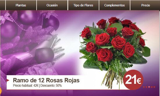 Mandar flores baratas por internet ah rrate un 50 for Donde venden plantas baratas
