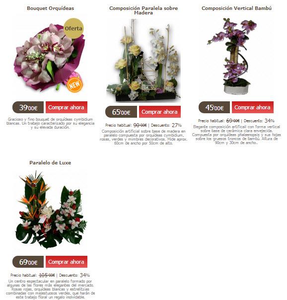Regalar orquídeas para San Valentín a precios reducidos