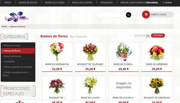 Ramos de flores para novias en Graficflower