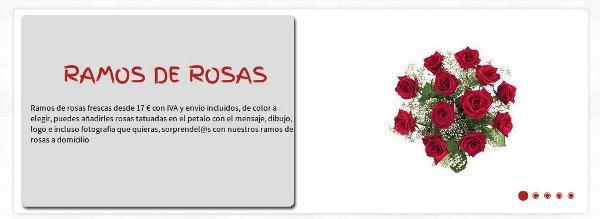 Regalar flores con Graficflower