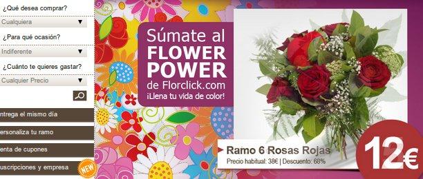 Mandar flores por Internet es fácil y barato