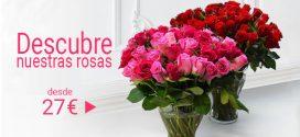 Regalar rosas para el día de la madre ahorrando dinero