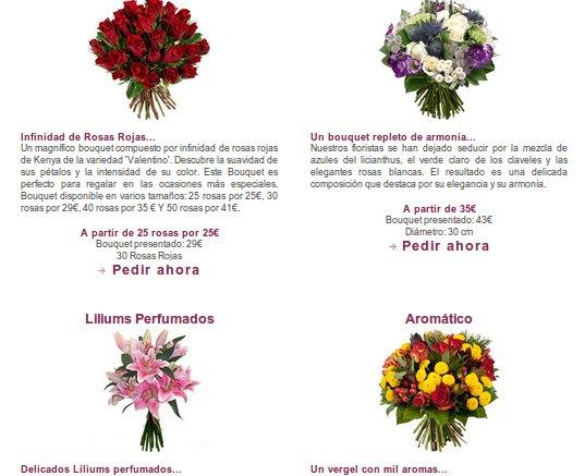 flores San Valentin 2014
