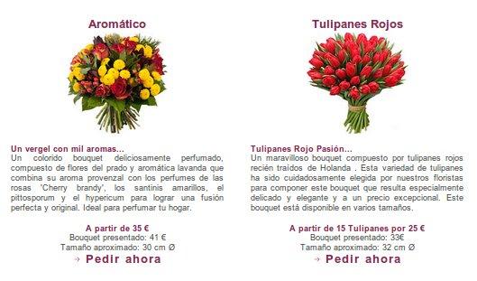 Flores naturales online: las flores más frescas del mercado