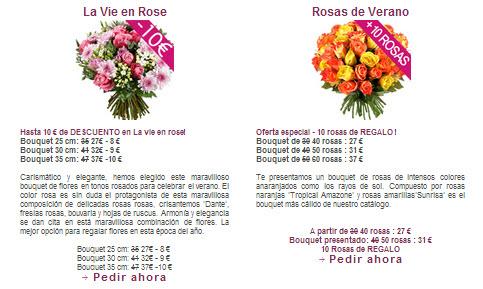 Rosas a domicilio baratas precios promociones y env os for Donde venden plantas baratas