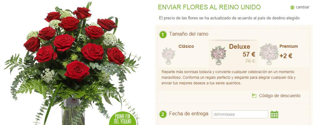 enviar 12 rosas rojas al extranjero