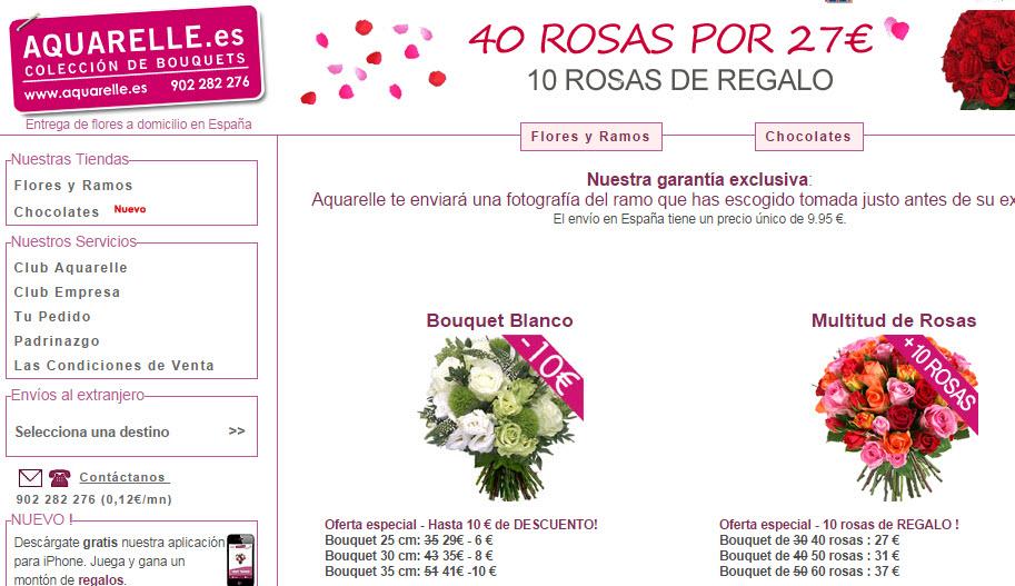 mandar flores por internet