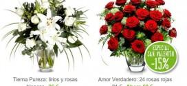Regalos San Valentín: ramos baratos, frescos y originales