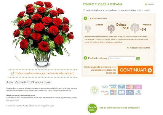 Flores Sant Jordi para regalar