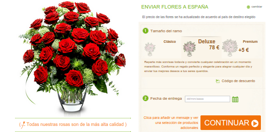 regalar rosas de Sant Jordi 2015