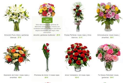 ramos de flores para regalar baratas