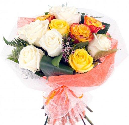 Ramos de novia rosas blancas