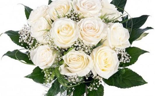 Ramos De Rosas Blancas Baratas A Domicilio Y Para Novias
