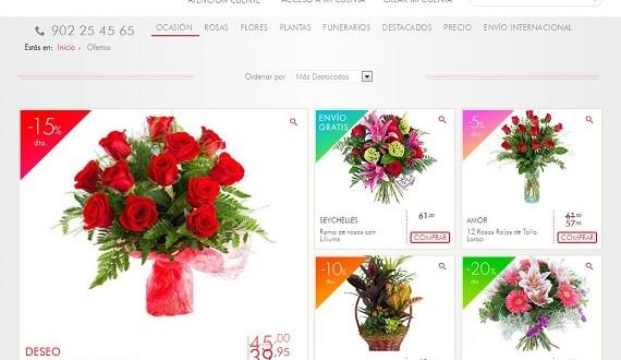 Flores del día de los santos 2015 a domicilio, ofertas y precios