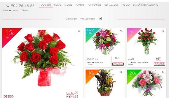 Rosas día de los santos 2015 a domicilio: precios y ofertas