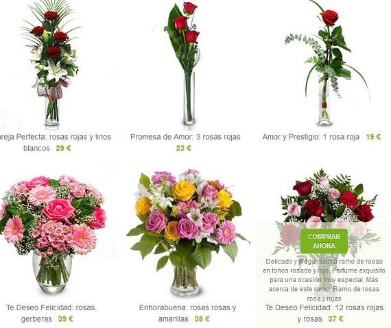 Rosas día de los santos precios
