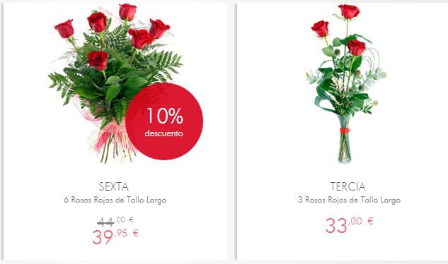 regalar rosas san valentin ultima hora