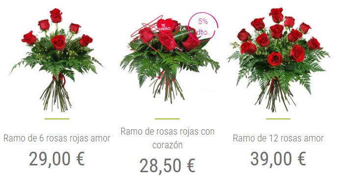 rosas san valentin a domicilio