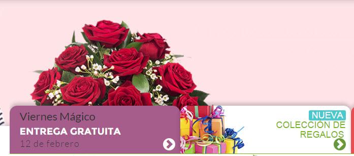rosas san valentin al extranjero