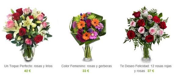 bouquet de flores a domicilio
