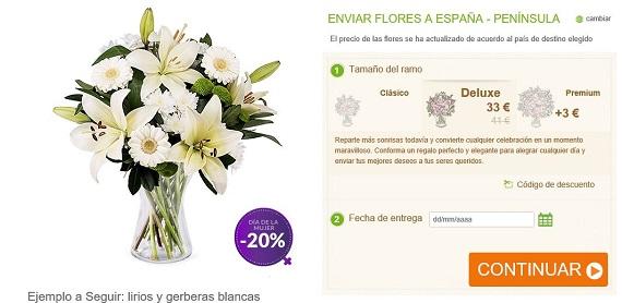 bouquet de flores de novia