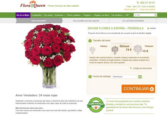bouquet de flores online