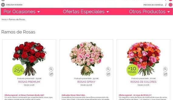 Ramos de flores día de la madre: baratos, online y a domicilio