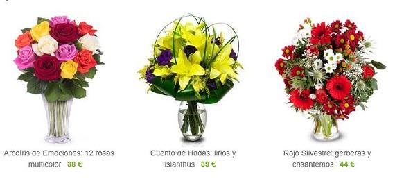 cestas de flores de cumpleaños
