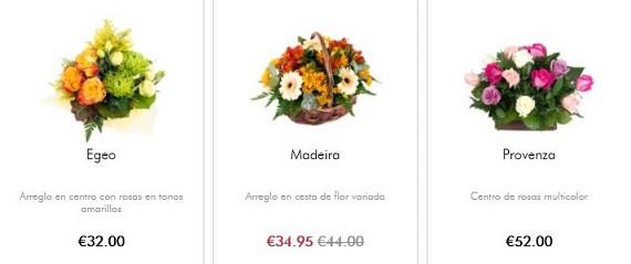 cestas de flores originales