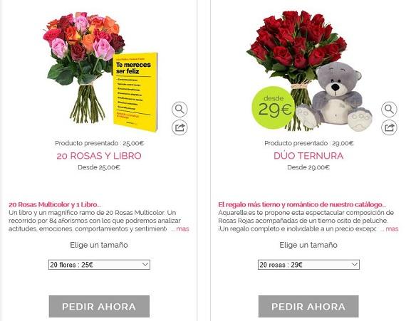ramos de flores día de la madre online