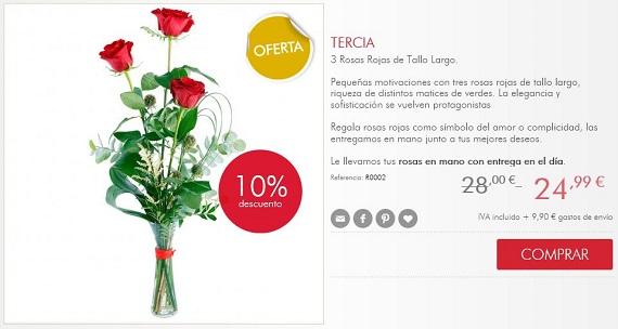 rosas Sant Jordi online