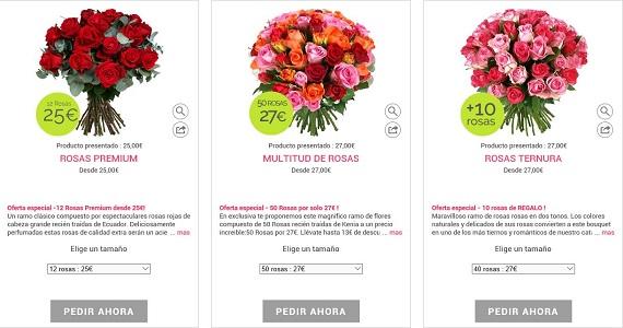 Rosas Sant Jordi 2016 para regalar: baratas, online y a domicilio