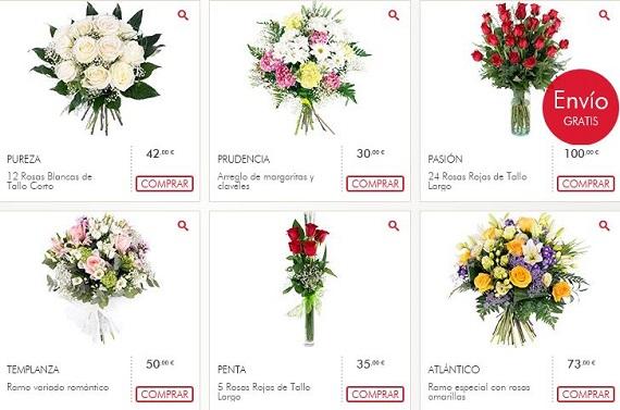interflora precios