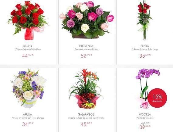 comprar flores por Internet