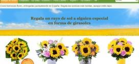 Comprar girasoles baratos online y a domicilio para regalar