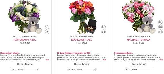 flores de verano por internet
