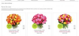 Bouquet de rosas rojas, rosas y blancas: barato a domicilio