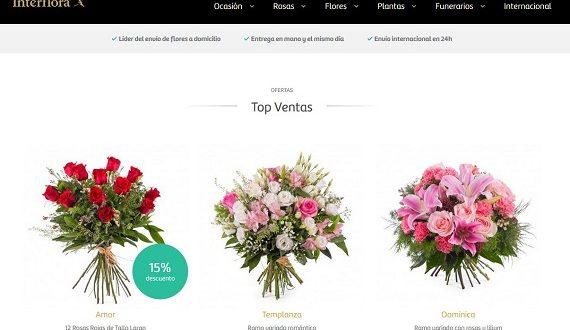 Flores con entrega en el día por Internet: online y baratas a domicilio
