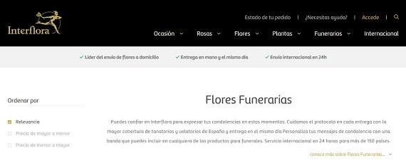 Arreglos funerarios online y baratos a domicilio: almohadones y centros