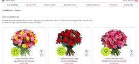 Ramos de Flores San Valentín 2017 baratos y a domicilio por Internet
