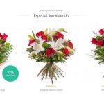 ramos de flores san valentin
