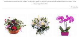 Ramos de flores para empresas baratas, online y a domicilio