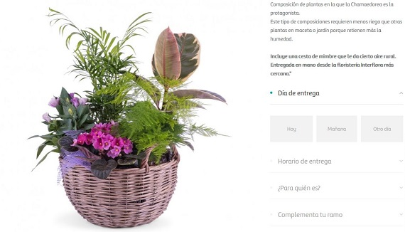 flores para empresas online