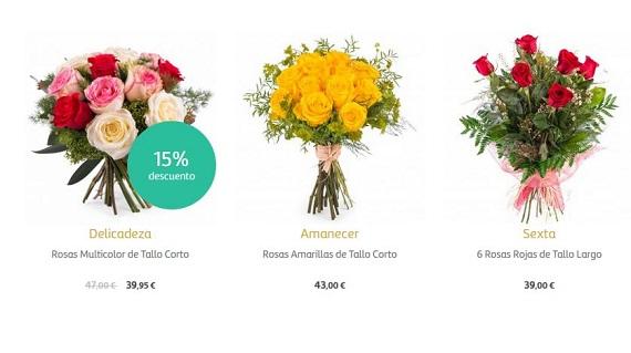 flores para empresas precios