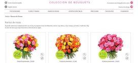 Mandar ramos de rosas rojas y blancas baratas: online y a domicilio