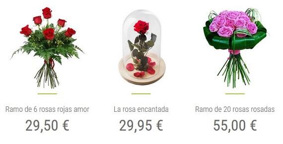 mandar ramos de rosas online
