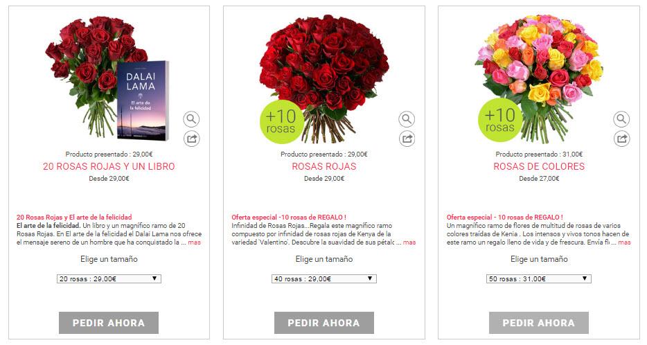 comprar rosas sant jordi