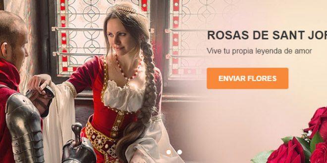 Dónde comprar rosas para Sant Jordi baratas online a domicilio